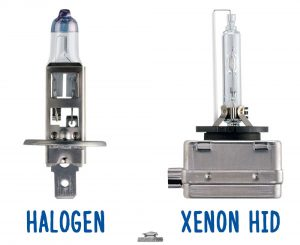 Halogen or xenon headlights