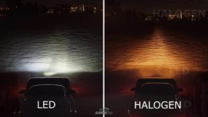 LED or halogen headlights