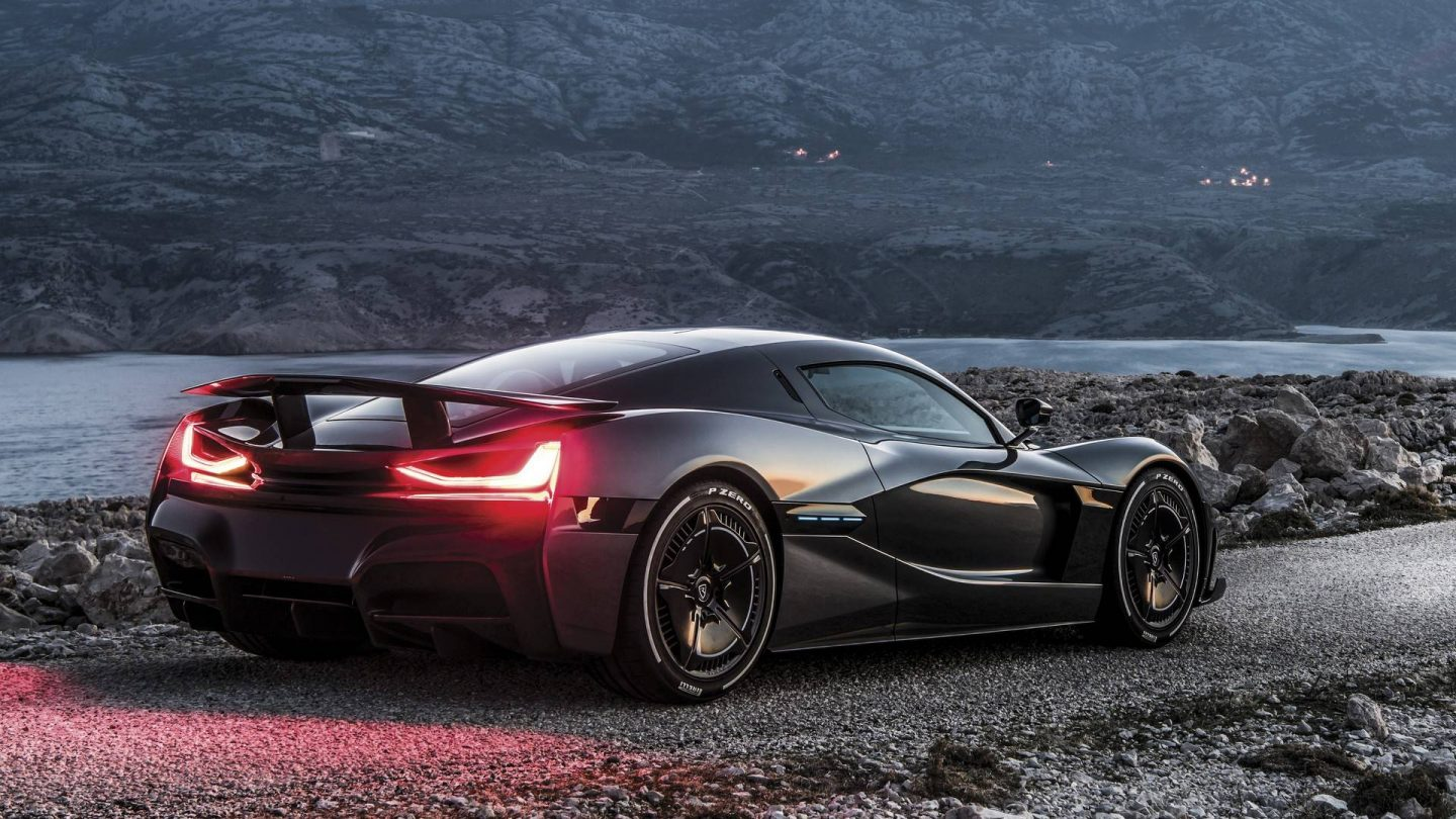 Rimac Concept Two, beautiful, fast, and futuristic